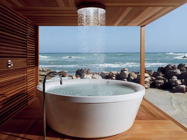 kos geo 180 runde freistehende badewanne xxl badewanne. Black Bedroom Furniture Sets. Home Design Ideas