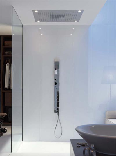 axor hansgrohe starck showerheaven showercollection regenhimmel deckenbrause armaturen badarmaturen. Black Bedroom Furniture Sets. Home Design Ideas