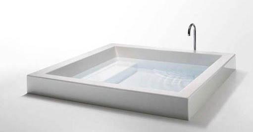 grande quadra von kos grande quadra step 180 badewanne mit sitzbank mit stufe xxl badewanne 1800mm. Black Bedroom Furniture Sets. Home Design Ideas